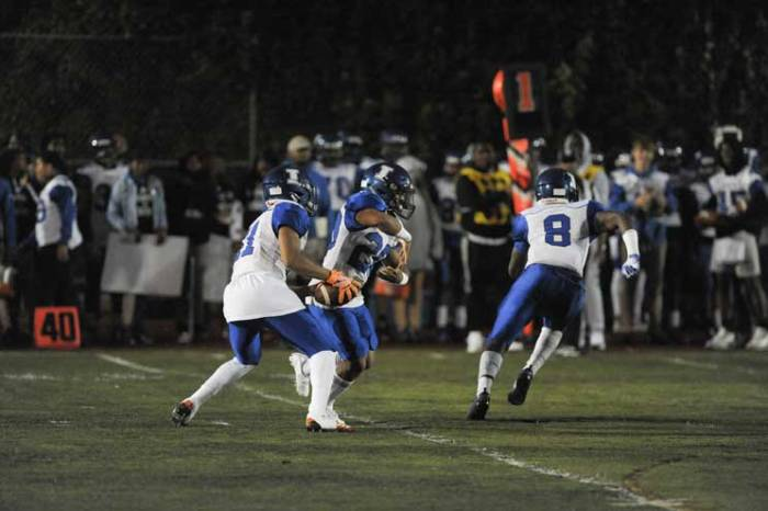 Irvington HS football team impresses in season opener