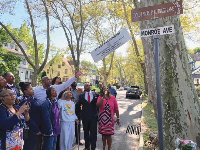 East Orange celebrates one of its own with street renaming