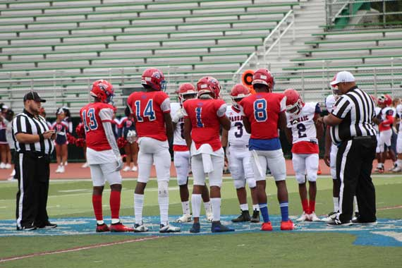 East Orange Campus HS football team gears up for home game vs. Montclair