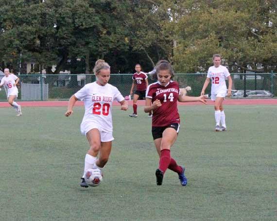 PHOTOS: Glen Ridge HS girls soccer team defeats Bloomfield for first win of season