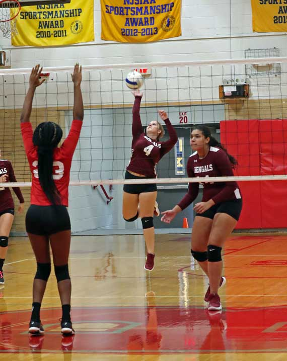 PHOTOS: Bloomfield HS girls volleyball team prevails in season opener