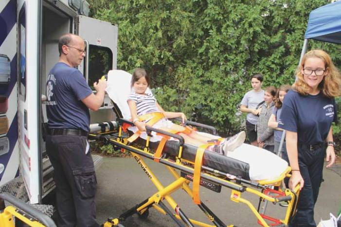 Maplewoodians learn about first response in town