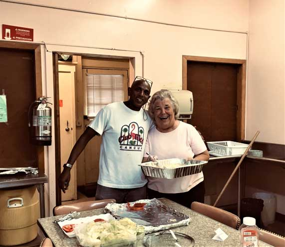 St. Stephen's takes a turn at Christine's Soup Kitchen