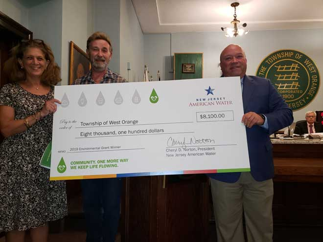 West Orange receives $8.1K for cleanup, education