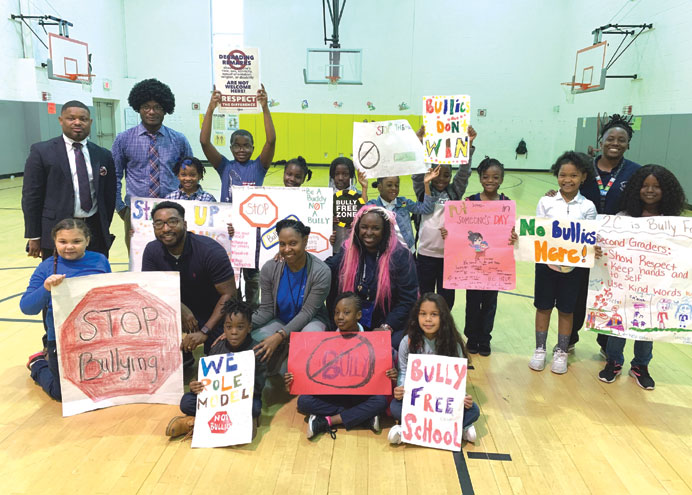 Cicely Tyson School initiates 2019 anti-bullying campaign
