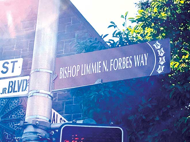 East Orange renames street for community leader, renowned pastor