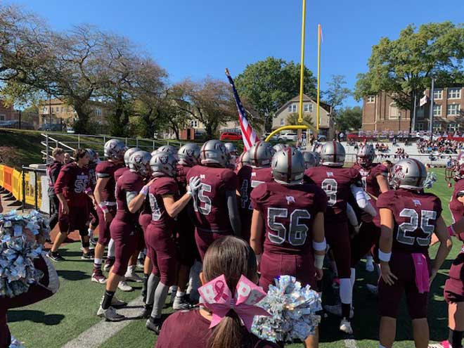 Nutley HS football team to visit Sparta in playoffs