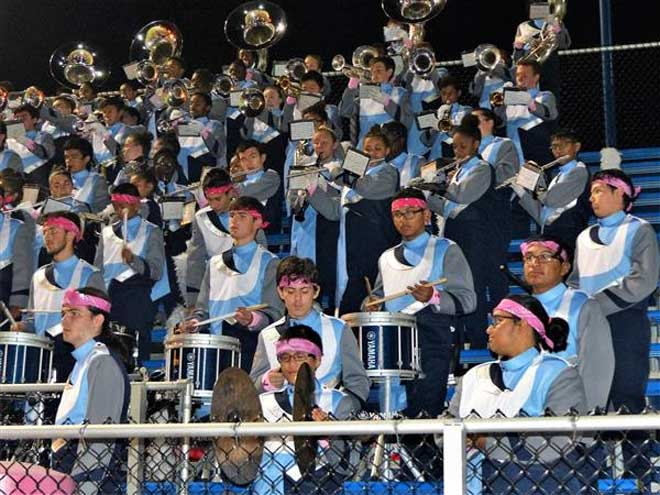 West Orange 'pinks out' at Oct. 25 football game