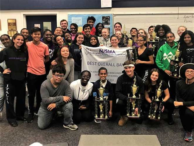 Marching Mountaineers capture NJSMA Northern NJ Regional Championship