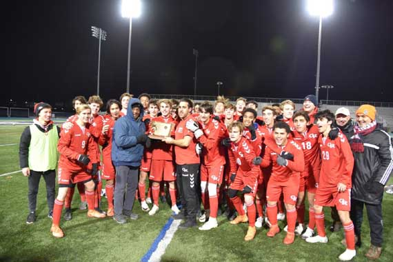PHOTOS: Glen Ridge HS boys soccer team wins Group 1 state championship