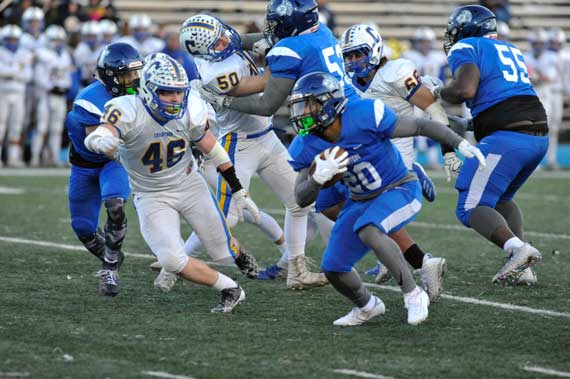 UPDATED: Irvington HS football players earn conference honors
