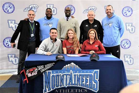 West Orange HS girls soccer phenom Natalie Nevins signs with St. Joseph's University
