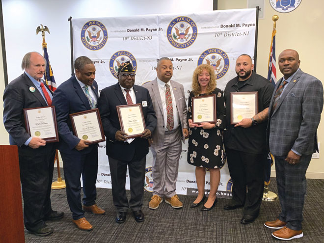 Irvington NAACP member honored at Veterans Day Program