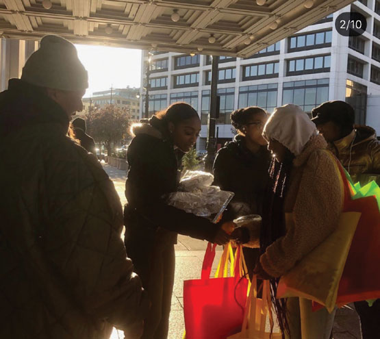 Church reaches out to homeless in Orange and at Newark Penn Station