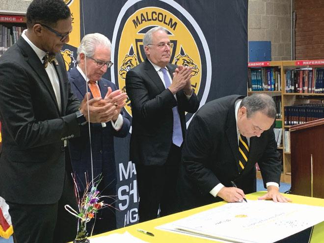 Malcolm X Shabazz High School unveils Engineering Academy