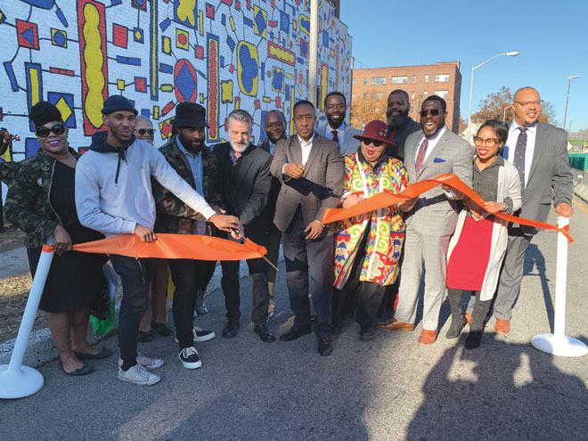 'East Orange Boogie Woogie' mural unveiled