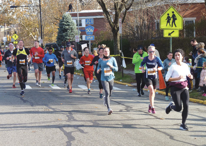 Great weather, good crowd for the 20th Ashenfelter 8K