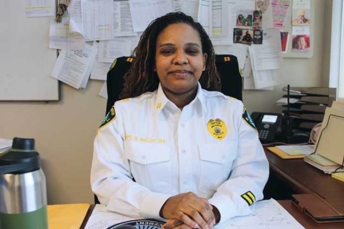 MPD promotes first woman of color to captain