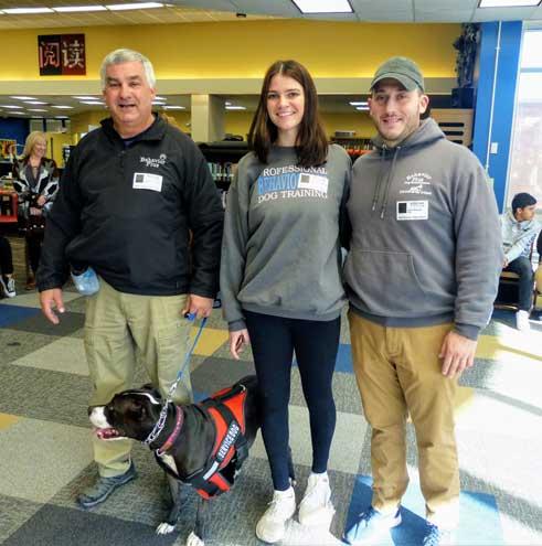 WOHS animal behavior class hosts visit with master trainer