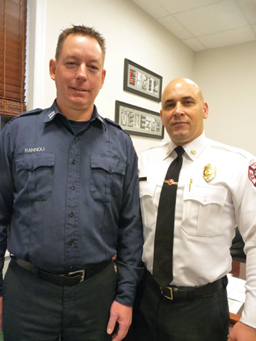 Capt. Rannou named 2019 Firefighter of the Year
