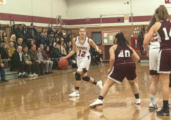 Nutley HS girls basketball team clinches divisional title