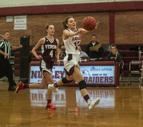 Nutley HS girls basketball team shows resiliency