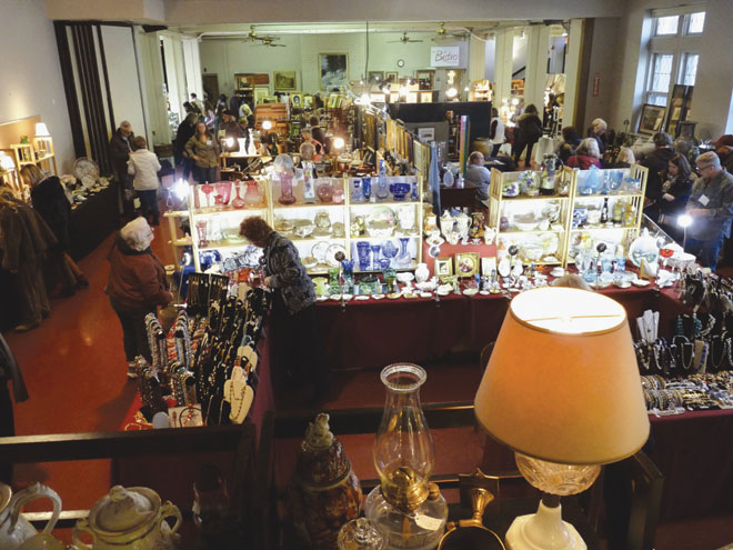 Antiques Show continues to draw them back