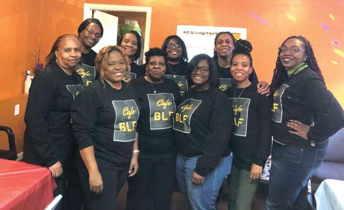 Cafe BLF Christmas Brunch serves Irvington community
