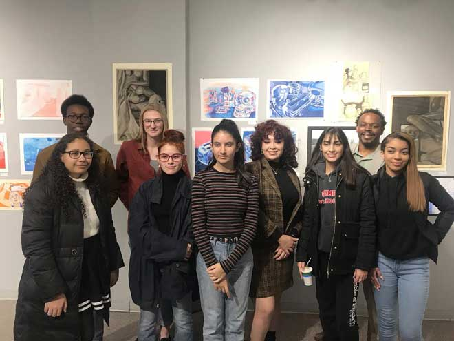 CHS students get gallery experience in 'Fresh 12'