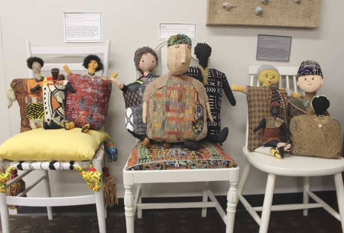 WOPL art display highlights the beauty of recycling