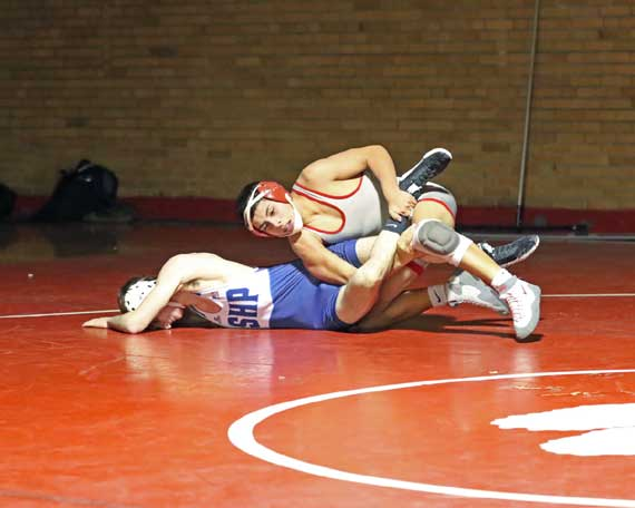 PHOTOS: Bloomfield wrestling team vs. Seton Hall Prep