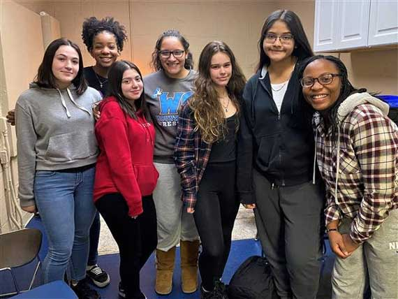 West Orange HS girls wrestling program thriving