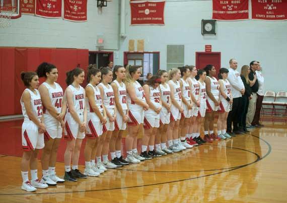 Glen Ridge HS girls basketball team seeks good ECT run