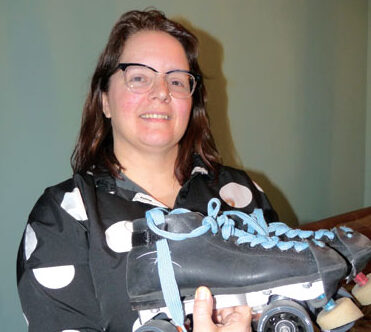 Roller derby girl: As nasty as she wants to be