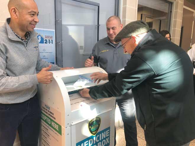 MPD gets permanent medicine drop box at station