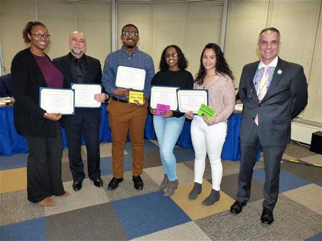 WO students and counselors recognized for 'Locker Slam'