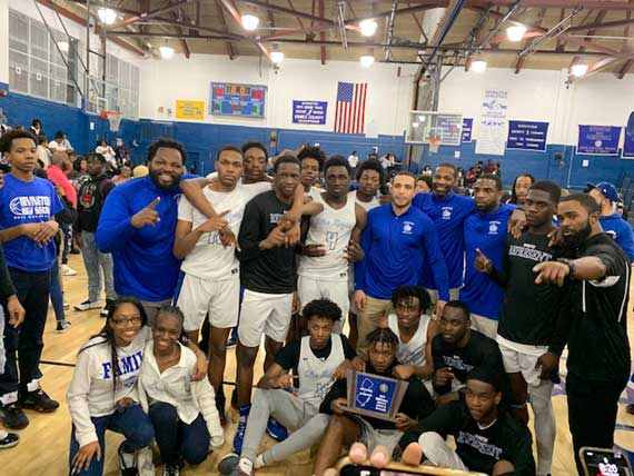 Irvington HS boys basketball team rolls past Colonia, 71-37, to capture North 2, Group 3 sectional title