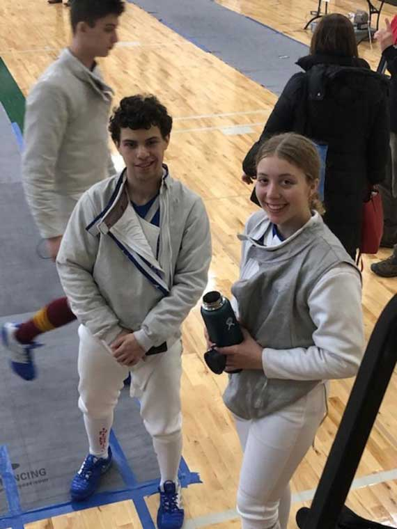 Columbia HS fencers excel at state Individual Tournament