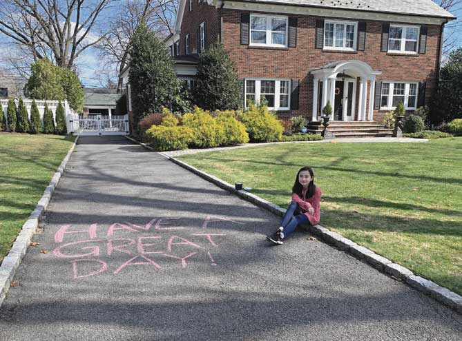 GR residents pick up their chalk to build community