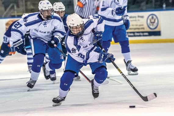 Seton HallPrep ice hockey team enjoys many highlights this season winter