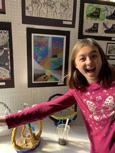 SOMSD students display their art at annual exhibit in mall