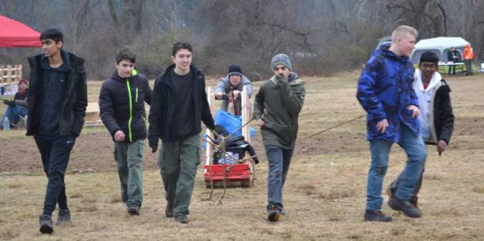 Nutley Scouts takes first place in Klondike Derby