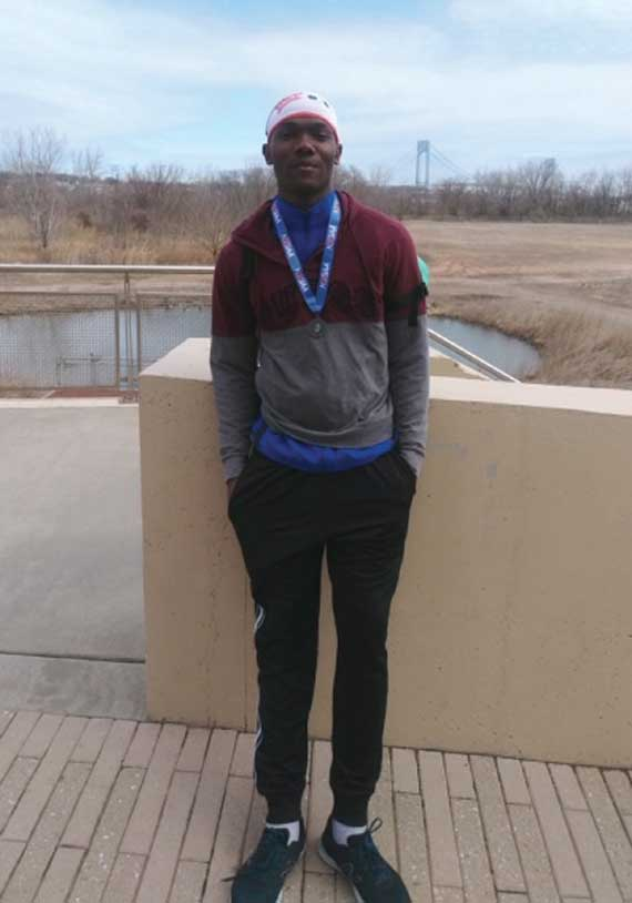 Irvington HS' Dwight Henry excels at indoor track and field Meet of Champions