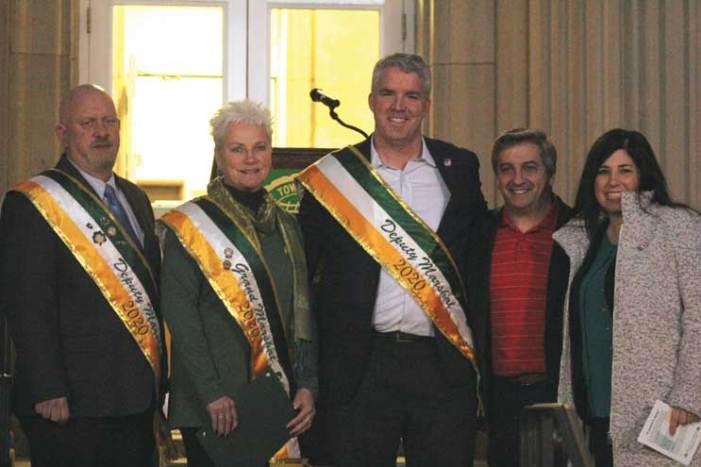 West Orange celebrates Irish pride at flag raising, parade postponed