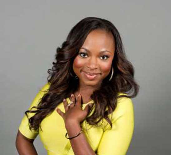 TV star Naturi Naughton donates to ECC Food Pantry