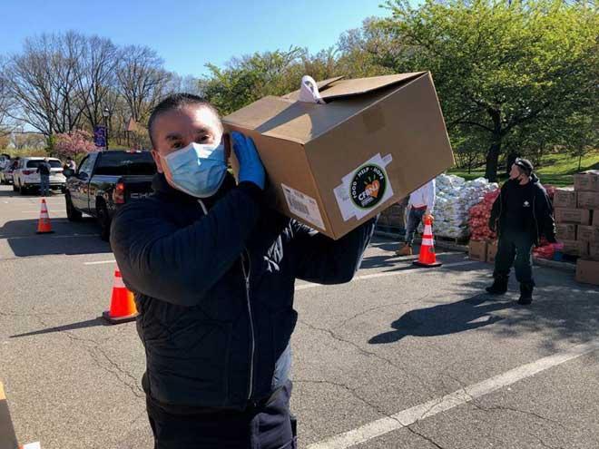 Community FoodBank distributes food in Essex County