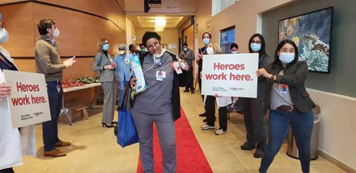 'Red Carpet Rollout' event shows appreciation for nurses