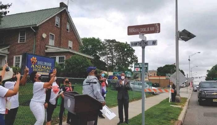 East Orange honors former mayor in street-naming ceremony