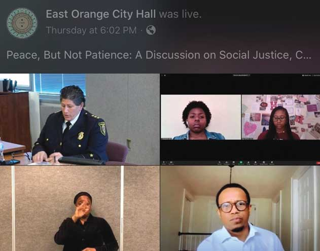 East Orange addresses unrest among the black community