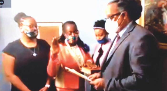 Orange officials take oaths of office